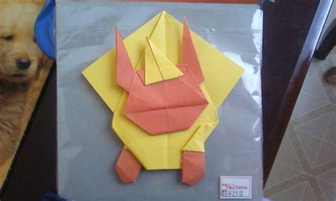 origami jigglypuff origami flareon by orchidstorm on deviantart