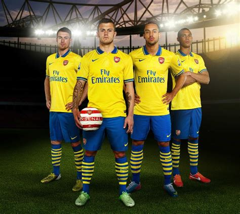 arsenal yellow kit arsenal new away kit 2013 14 gunner reveal new yellow and