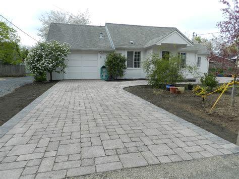 hill driveway design eugene paver driveways interlocking paver driveways