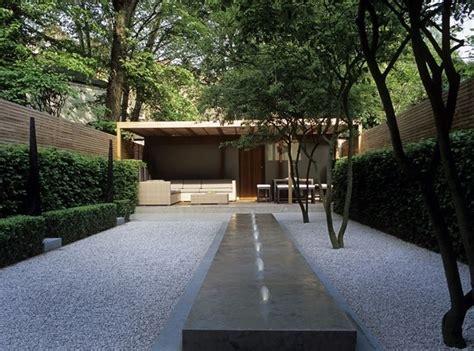giardino con ghiaia ghiaia progettazione giardini ghiaia per