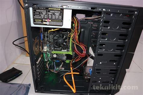 Pc Rakitan Gaming Amd A4 6300 Box Asrock A68 Dg3 mencoba rakit pc baru budget 2 juta pas bisa juga buat