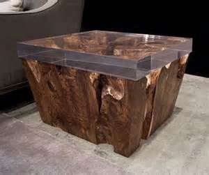 unique end table ideas 25 best ideas about unique wood furniture on pinterest resin furniture acrylic side table