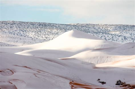 sahara desert snow snow covers sahara desert for third time in 40 years outside the ufc ufc 174 fight club forum
