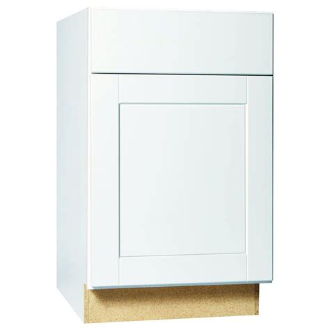 Cabinet Door Glides Hton Bay Shaker Assembled 21x34 5x24 In Base Kitchen Cabinet With Bearing Drawer Glides