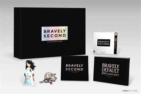 X 3ds Second bravely second release date and collector s edition