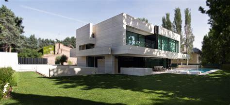 design milk houses modern home made of limestone black glass design milk