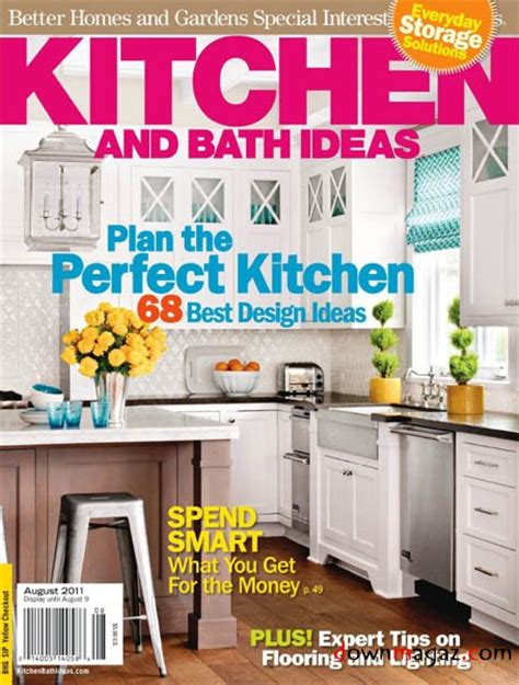 kitchen ideas magazine kitchen and bath ideas august 2011 187 download pdf magazines magazines commumity