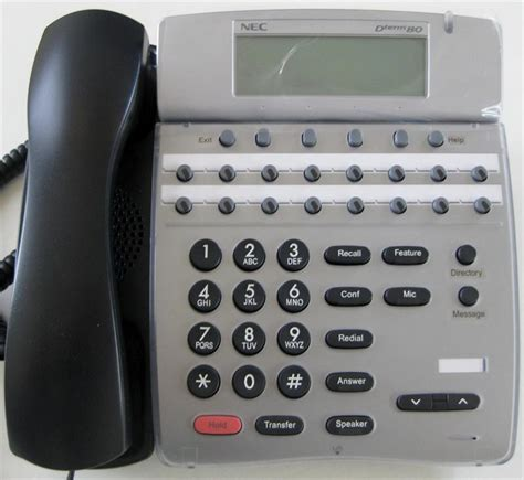Nec Dterm 80 Reset Voicemail Password | nec dth 16d 2 dterm 80 display telephone refurbished