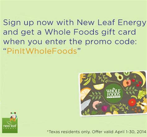 Whole Foods Gift Card Discount - pin by tonya dreese on sweepstakes to enter pinterest