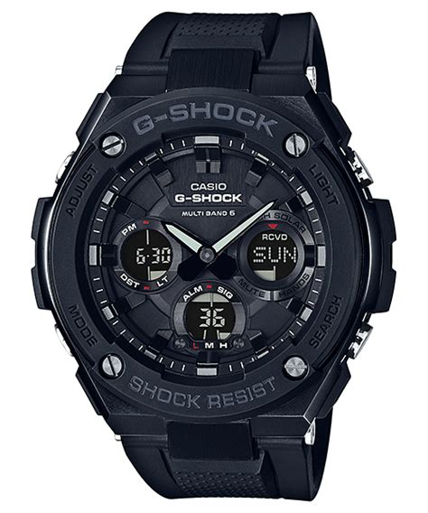 Casio G Shock Gst S110bd 1a2dr Tough Solar Stainless Steel Band 200m g shock g steel gst w100g 1bjf and gst w110bd 1bjf g central g shock