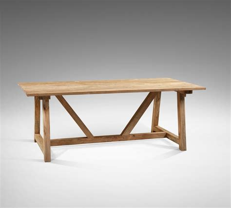 reclaimed teak andreas dining table blubambu