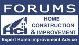 home improvement forums home construction improvement