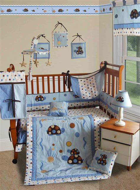 Turtle Crib Bedding Set Baby Boutique Turtle Parade 13 Pcs Crib Nursery Bedding Set Ebay