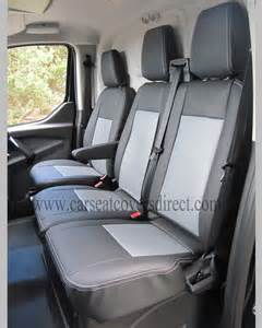 Seat Covers For Ford Transit Ford Transit Custom 6th Black Grey Seat Covers