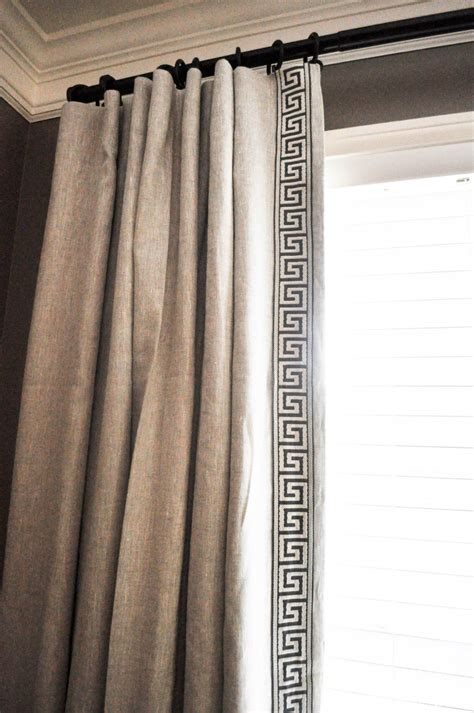 greek key curtains drapes best 25 drapery panels ideas on pinterest drapery