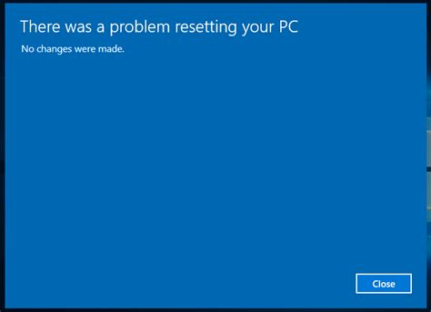 resetter l200 windows 10 can t perform factory reset on windows 10 super user
