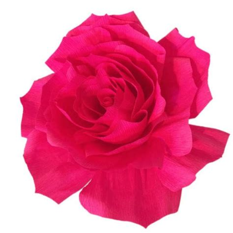 Carset 3 In Hug Flower Dress Hotpink paper crepe paper bouquet flower