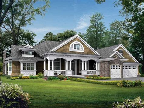 Home Plans One Story by One Story Craftsman Style House Plans One Story Craftsman