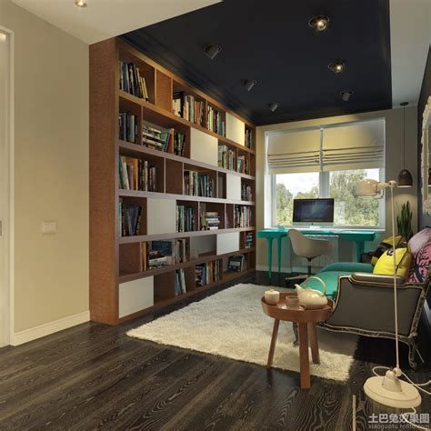 materials library and studio contemporary home office 欧式书房书柜装饰效果图片大全 土巴兔装修效果图