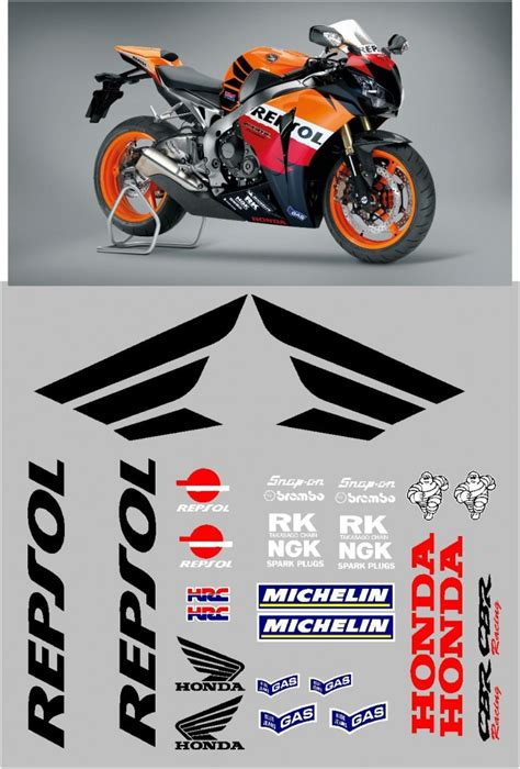 Motorbike Sticker Kits