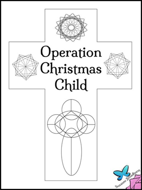 coloring pages for operation christmas child operation christmas child shoebox clip art sketch coloring