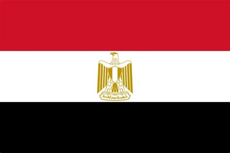egypt flag coloring country flags