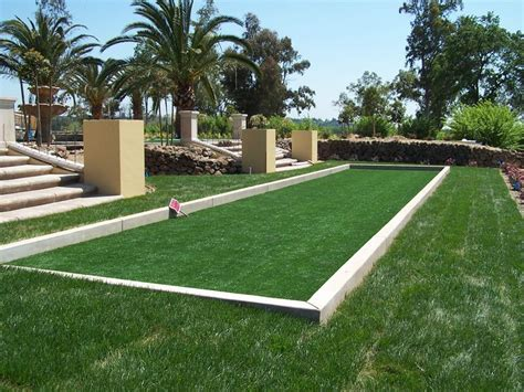 backyard bocce 1000 images about bocce ball courts on pinterest bocce ball court outdoor living and special