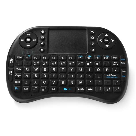 Wireless Air Keyboard Mouse Black 2 4ghz mini wireless keyboard fly air mouse combo touchpad