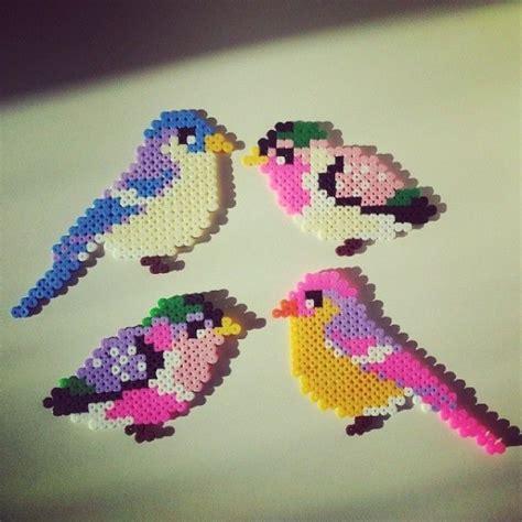 hama birds birds hama perler by saretawasumaku by nannagirl