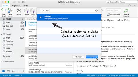 Searching Archived Emails In Outlook How To Add Gmail Archive Feature To Microsoft Outlook For Mac
