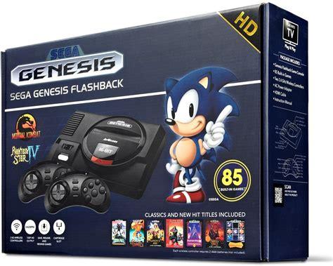 sega gaming console sega genesis flashback console 85 jogos 2018 mega