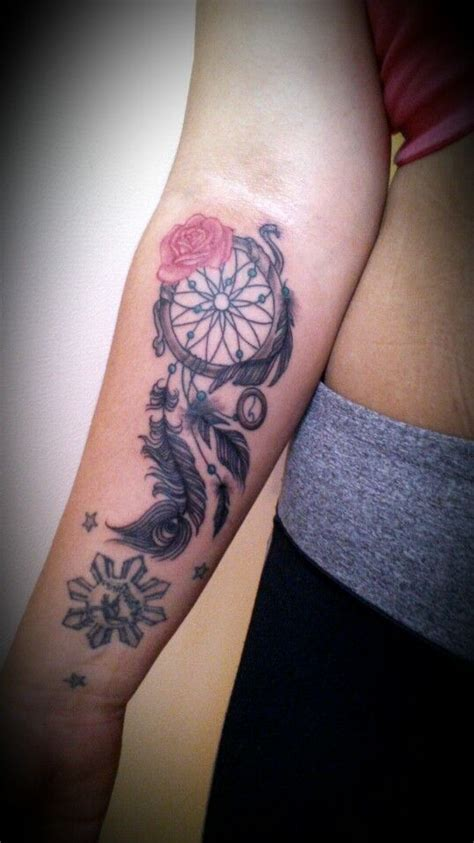 tattoo on arm dream dreamcatcher tattoo for the forearm tattoo weakness