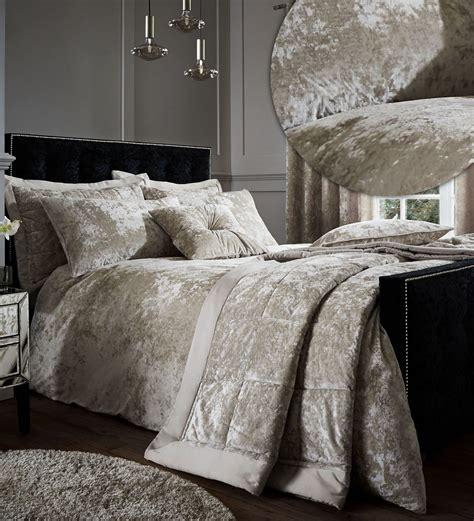 catherine lansfield catherine lansfield crushed velvet duvet cover bedding bed set or accessories ebay