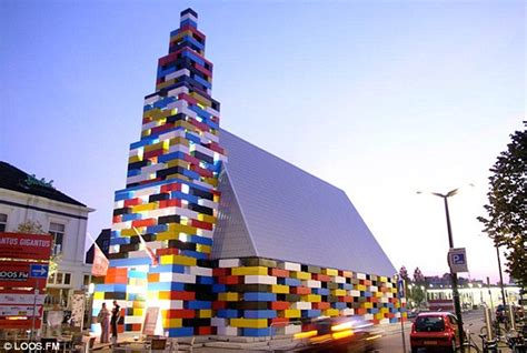 Church built out of Lego blocks stretches 65ft up into the heavens   Daily Mail Online