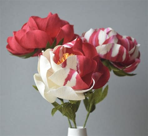 Handmade Crepe Paper Flowers - 1000 ideas about handmade paper flowers on