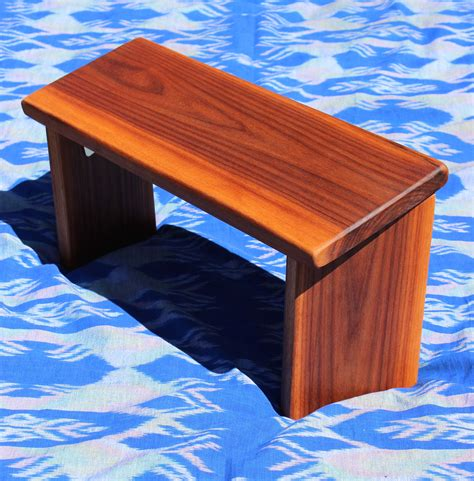 portable meditation bench buy a hand crafted portable meditation bench with personalized carving made to order