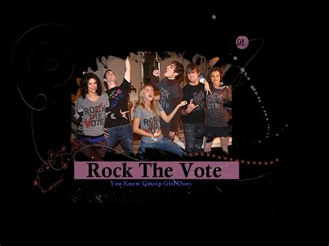 Rock The Vote Like Gossip by Rock The Vote Gossip Couples Wallpaper 1115337