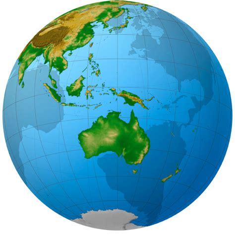 map of globe oceania globe map mapsof net