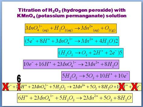 heritage high school ap chemistry 2010 11 mr brueckner redox titration lab balanced