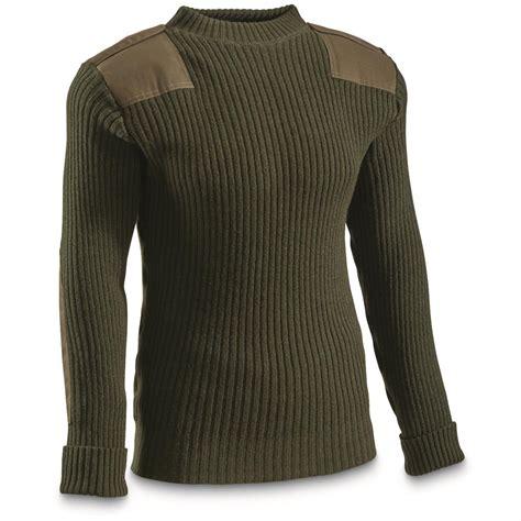 Sweater New u s surplus usmc wool sweater new 613593