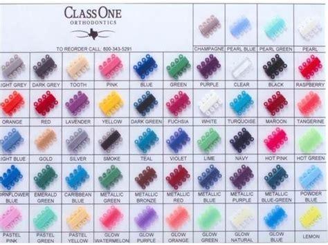 braces color palette 17 best ideas about braces colors on nail
