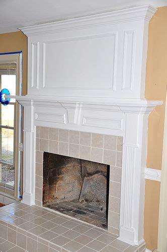 extend  mantel upward homebody fireplace mantels shiplap fireplace