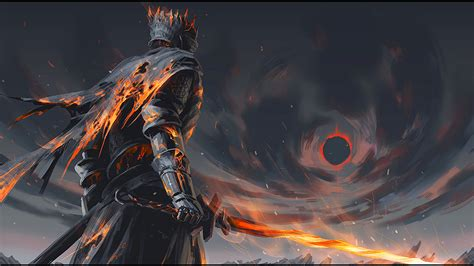 wallpaper dark souls soul of cinder full hd wallpaper and background image