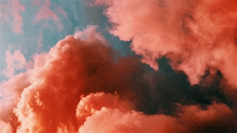 wallpaper clouds sky porous pink hd picture image