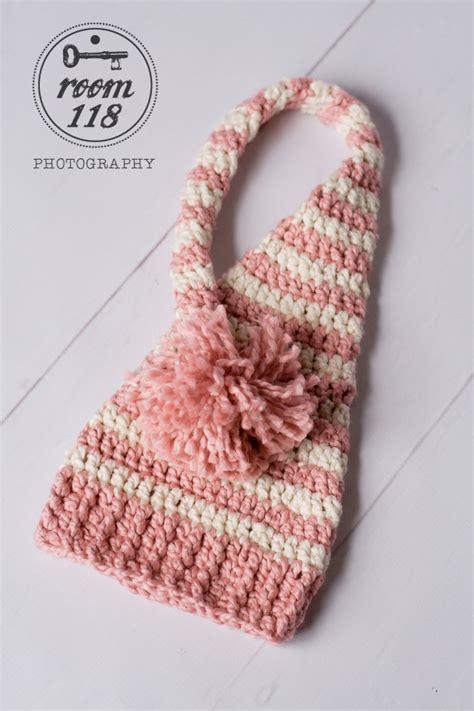 Free Pattern Elf Hat | free crochet pattern for baby pixie hat