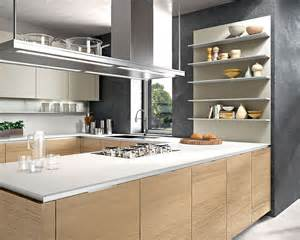 kitchen ideas functional solutions: contemporary italian kitchen offers functional storage solutions