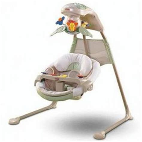 Fisher Price Nature S Touch Papasn Cradle N Swing N1973