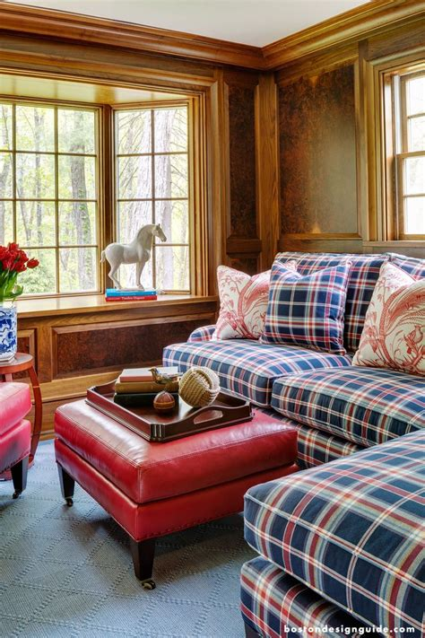 Plaid Chairs Living Room 1000 Ideas About Plaid On Pillows Rustic Clocks And Wall Clock Decor