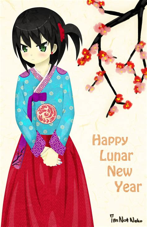 happy lunar new year 2014 by imnotneko on deviantart