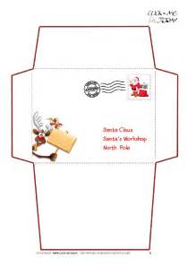 search results for santa claus envelope template